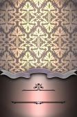 Jahrgang Hintergrund mit altmodischen Mustern. — Stockfoto