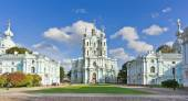 Smolny Cathedral. St.-Petersburg, Russia — Stock Photo