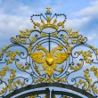 Постер, плакат: Top of the gate of Catherine Palace Pushkin near St Petersburg