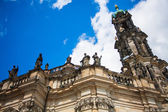Dresden Historical and cultural center Europe. — Stock Photo
