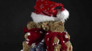 Christmas decorations — Stock Video