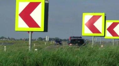 道路上的交通 — 图库视频影像