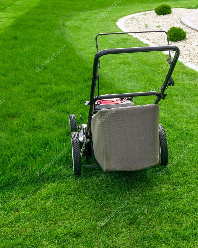 Kleine grasmaaier