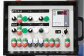 Machine control panel — Stock Photo