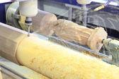 Woodworking milling CNC machine — Stock Photo