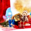 Christmas decoration on abstract background — Stock Photo #59052665