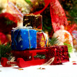 Christmas decoration on abstract background — Stock Photo #59052751