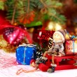 Christmas decoration on abstract background — Stock Photo #59328803