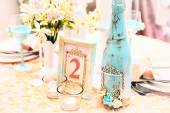 Beautiful decorations for a wedding — Stockfoto