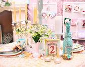 Beautiful decorations for a wedding — Foto de Stock
