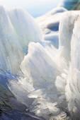 Melting spring ice, Taimyr, Russia — Stock Photo
