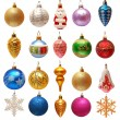 Collection of Christmas toys — Stock Photo #55042767