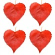 Collection of leaves heart — Stock Photo #55598957