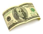 One hundred dollar — Stock Photo