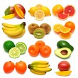 Collection of fresh fruits — Stock Photo #58353345