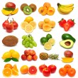 Collection of fresh fruits — Stock Photo #58353375