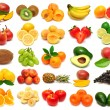 Collection of fresh fruits — Stock Photo #58353399