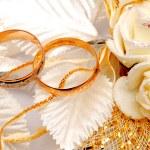 Wedding rings — Stock Photo #60045813
