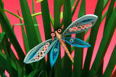Papieru origami motyla — Zdjęcie stockowe