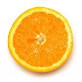 오렌지 과일의 절반 — Stockfoto