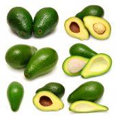 Tasty Avocado collection — Stock Photo