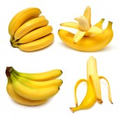 Collection of tasty bananas — Stock Photo