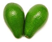 Two ripe avocados — Stock Photo