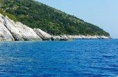 Summer Kefalonia coast view (Greece) — 图库照片