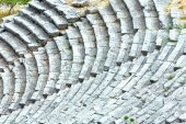 An ancient amphitheater (Greece) — Stock Photo