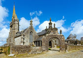 The parish of Guimiliau, Brittany, France. — Stock Photo