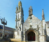 The parish of Lampaul-Guimiliau, Brittany, France. — Stock Photo
