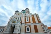 The Alexander Nevsky Cathedral (Tallinn, Estonia). — Stock Photo