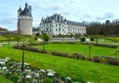 Chateau Chenonceau or Ladies Castle (France). — Foto de Stock