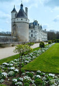 Chateau Chenonceau or Ladies Castle (France). — Stock Photo