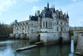 Chateau Chenonceau or Ladies Castle (France). — Стоковое фото