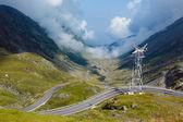 Summer mountain view (Romania) — Stock Photo