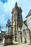 The parish of Saint-Thegonnec, Brittany, France. — Stock Photo