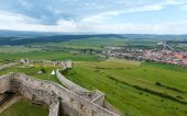 Summer view from Spis Castle (Slovakia). — Stock Photo