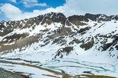 Verão a paisagem de montanha Alpes (Áustria). — Fotografia Stock