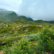 North Norway cloudy summer mountain — Stock Photo #67370437