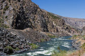 Wind river canyon — Stock Photo