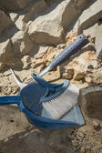 Archeological dig tools — Stock Photo