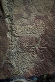 Petroglyphs of wyoming — Stockfoto