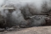 Steaming rocks  — Foto Stock