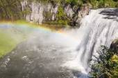 Upper mesa falls — Stock Photo