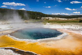 Geyser landscape — Stock Photo