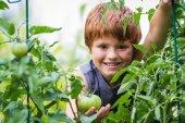 Young gardener — Stock Photo