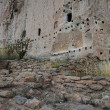 Ancient ruins in Bandelier National Monument — Stock Photo #59413075