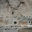 Ancient ruins in Bandelier National Monument — Stock Photo #59413137