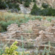 Ancient ruins in Bandelier National Monument — Stock Photo #59413241
